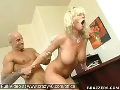 Secretary fucks her Boss -