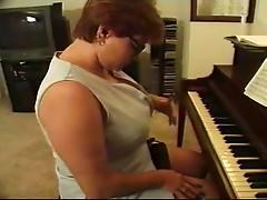 BBW Piano Teacher Screwed