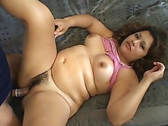 Meet Celeste, she's a marvelous preggy babe, she's very slutty and always willing for pecker pleasing with her fellatio and tight oozing moist pussy. In this movie exotic looking preggy mom hits it off with a macho guy and enjoys pecker gagging and naught
