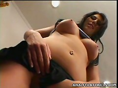 Sarah O'Neal's a long legged beauty with a big lust for anal orgasm. Check her out, she's gorgeous and this babe has a firm looking wazoo cheek that this babe enjoys getting romped. See her in this hot scene where this babe takes hard knob pounding in her