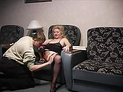 russian mature with 2 boys