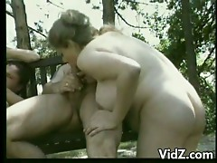 This 2 pair go for a double date in the park.While in the park they talk about sex and then the sensation begins.The pair became so concupiscent that time and started to have sex where they are.An outdoor foursome happens switching partner and fucking the