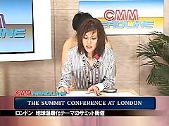 Maria Ozawa Newsreader Bukkake