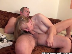 Grandma Acquires Her Hairy Cookie Screwed Unfathomable