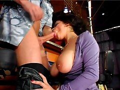 British Busty Alexis Silver acquires screwed in a bar