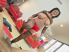 British Busty Alexis Silver in a wang castigation vid