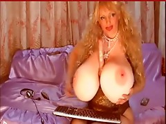 Unbelievable giant Russian boobs