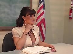 Breasty Milf educates a pair ctoan