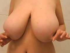 Huge boobs and merry nipples