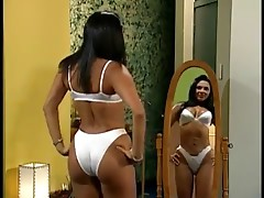mainstream latina cougar actress satin bra panty