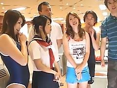 Ai Hanezawa and Runa Segaki in the nude act