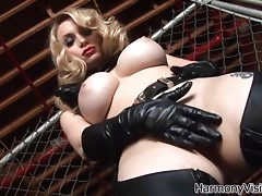 Amazing rough sex with the busty blonde Aiden Starr