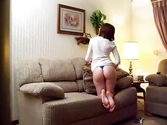 I watch my stepsister masturbate