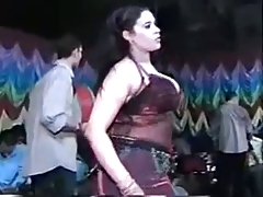arab belly dancer