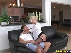 Milf rides cock like a motherfucker!