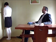 schoolgirl spanked hard