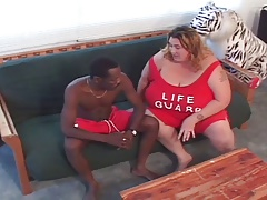 SSBBW fucked by black guy