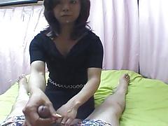 Tiny Japanese Aunty Keiko Taki