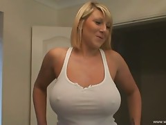 Busty Big Sister Tease - Mercedes Compilation