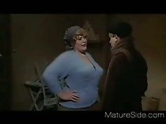 Vintage BBW Mom + Boy 02 From MatureSide