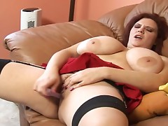 Fatty with huge tits gets her anal cavity filled with black cock