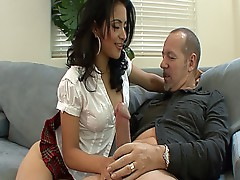 Watch this dude banging his sexy Indian step daughter