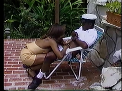 Classic Black Anal Janet Jacme