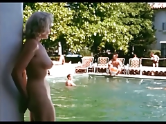 true 60's nude by the pool