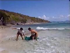 Trio sur la plage