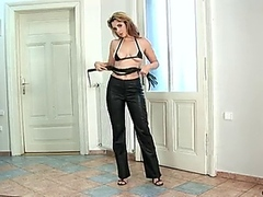 Hot mature lesbians at home