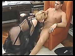 Milf Fucking a Younger Man