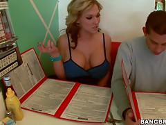 Lucky guy nails her sexy blonde teacher
