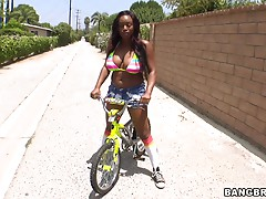 Rough sex with the smoking hot and insatiable Jada Fire