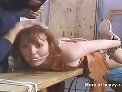 Atada y violada