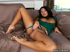 Incredible rough sex with the slutty Asa Akira