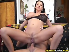 Milf with big tits gets fucking nailed hard!