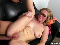 Rough anal sex with a gorgeous blonde hottie
