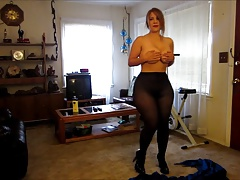 Extreme Big Ass trying Clothes
