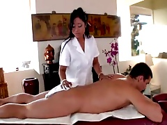 Kya gives very happy massage-by PACKMANS