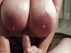 Maria Titty Fuck And Handjob