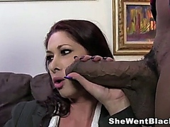 Hot MILF Tiffany Mynx gets DP by Huge Black Cocks