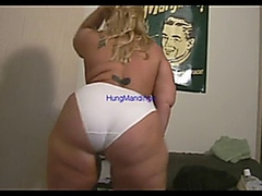 HungMandingo - Big Booty Blonde's Butt Got Bossed