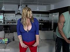 Fat Slut On Big Black Dick