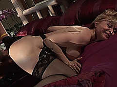 MILF Nina Hartley and Christian