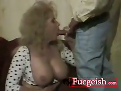 Vintage Mature Gets Her Holes Nailed Hard Video