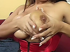 Natural breasted milf getting pounded