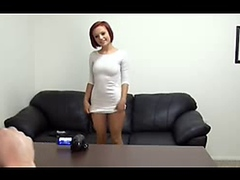 Perfect Teen on Backroom Casting Couch