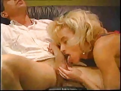 Vintage BLond Gets Hard Anal BIG Facial Peter
