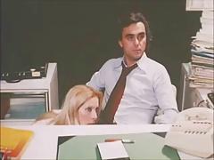 classic retro 80s clip #5 secretary blowjob under the desk