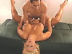 Busty Babe Mouth Fuck Facial HD